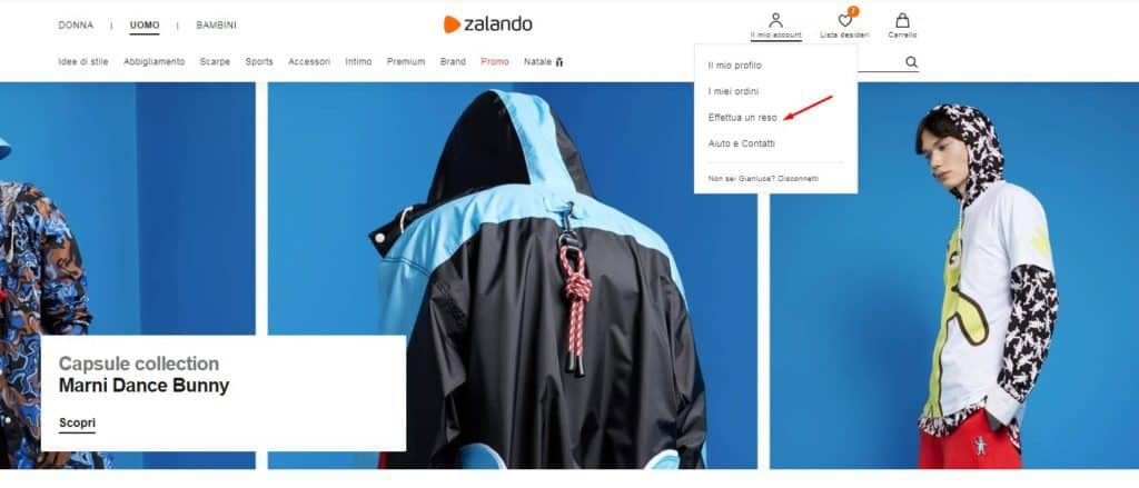 official photos a7cd1 284d1 Reso Zalando: come effettuare un cambio taglia o ottenere un ...